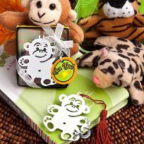 Jungle Critters Monkey Book Marker Favours